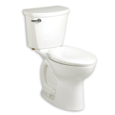 Cadet 1.28 GPF Round Two-Piece Toilet Finish: White