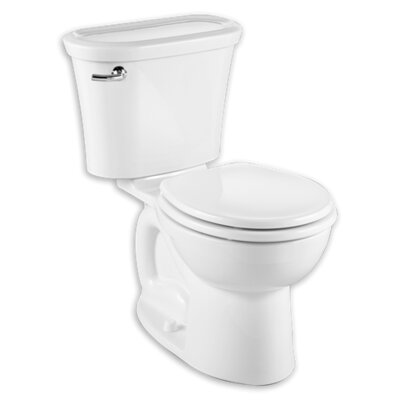 Cadet Tropic 1.28 GPF Round Two-Piece Toilet Finish: White
