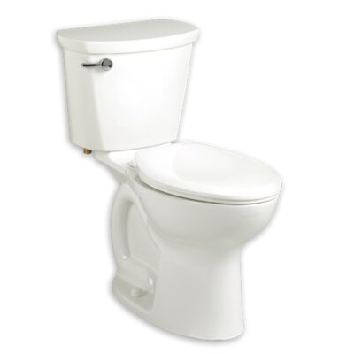 Cadet 1.6 GPF Round Two-Piece Toilet Finish: White