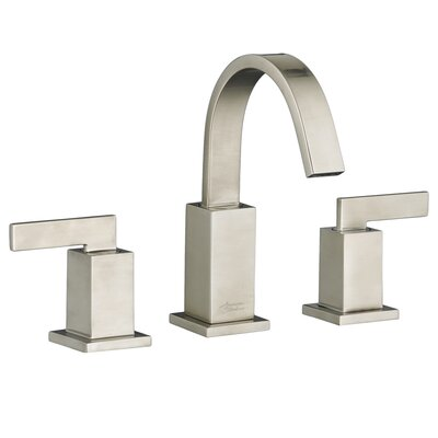 Times Square Standard Bathroom Faucet Lever with Drain Assembly Finish: Satin