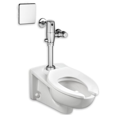 Selectronic 1.1 GPF Elongated One-Piece Toilet with Touchless Flush