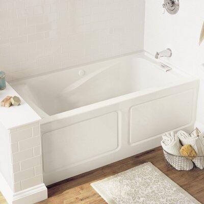 Evolution 62.75 x 34.75 Soaking Bathtub