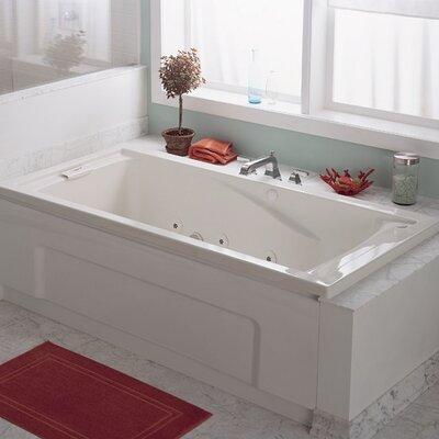 Evolution 74.75 x 38.5 Everclean Air Bathtub