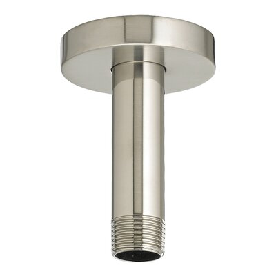 Round Shower Arm and Escutcheon Finish: Satin