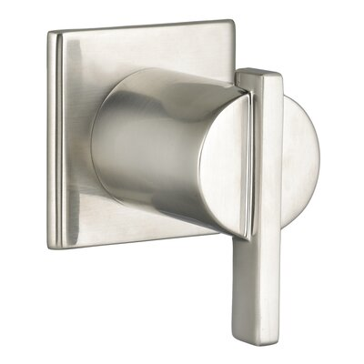 Times Square On/Off Volume Control Valve Trim Finish: Satin Nickel