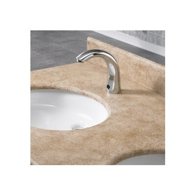 Selectronic Cast Spout Faucet Less Handles