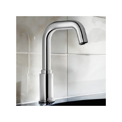 Selectronic Deck Mounted Faucet Less Handles Finish: Chrome
