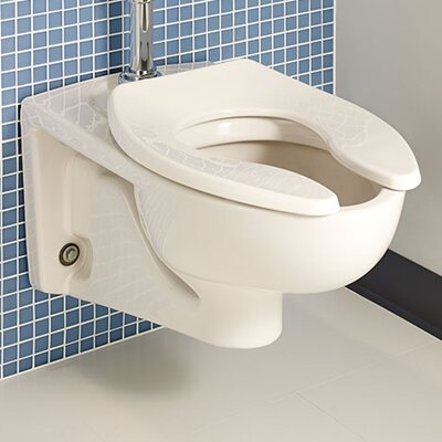 Afwall Dual Flush Elongated Toilet Bowl