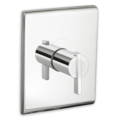 Times Square Central Thermostat Trim Single Handle Finish: Chrome