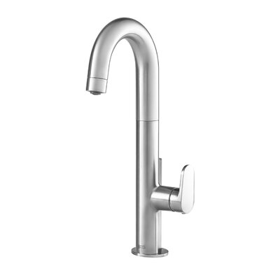 Beale Single-Handle Pull Down Bar Faucet Finish: Stainless Steel