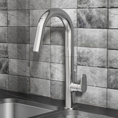 Beale Pull Down Bar Faucet Finish: Polished Chrome