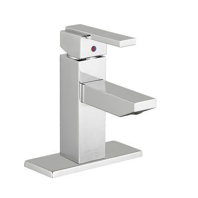 Times Square Monoblock Faucet Single Handle Finish: Chrome