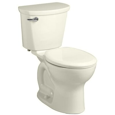 Cadet 1.28 GPF Round Two-Piece Toilet Finish: Linen