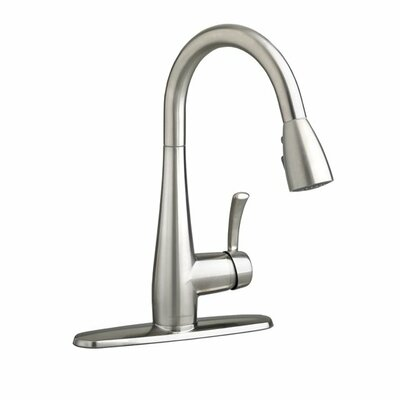 Quince Pull Down Single Handle Kitchen Faucet Finish: Stainless Steel