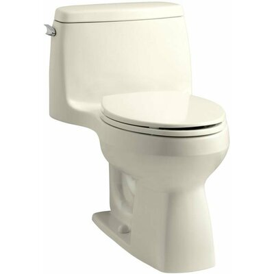 Cadet Studio 1.28 GPF Elongated One-Piece Toilet Finish: Linen