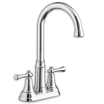 Portsmouth Bar Sink Faucet Double Handle Finish: Chrome
