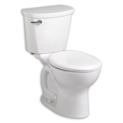 Cadet 1.6 GPF Round Two-Piece Toilet Finish: Bone