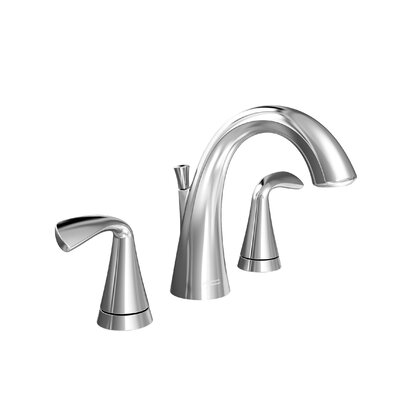 Fluent Widespread Bathroom Faucet Double Handle Finish: Polished Chrome