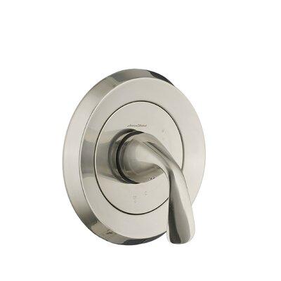 Fluent Pressure Balance Valve Trim Kit with Metal Lever Handle Finish: Satin Nickel