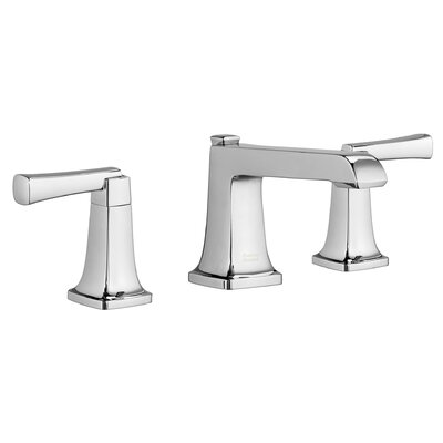 Townsend Widespread Bathroom Faucet Double Handle with Drain Assembly Finish: Polished Chrome