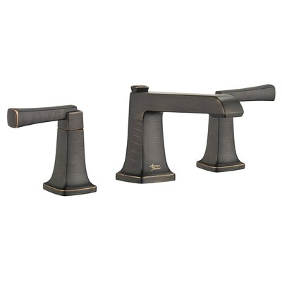 Townsend Widespread Bathroom Faucet Double Handle with Drain Assembly Finish: Legacy Bronze