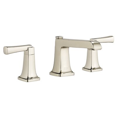 Townsend Widespread Bathroom Faucet Double Handle with Drain Assembly Finish: Polished Nickel