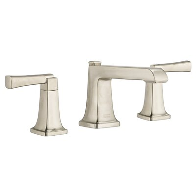 Townsend Widespread Bathroom Faucet Double Handle with Drain Assembly Finish: Satin Nickel