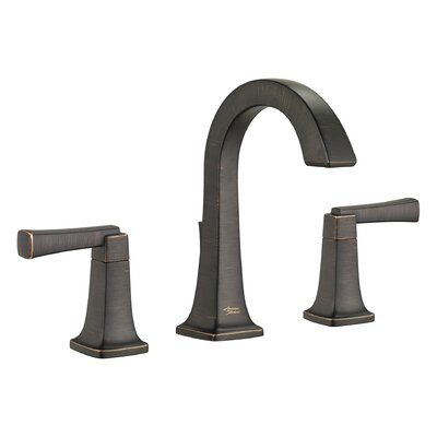 Townsend High Arc Bathroom Faucet Double Handle with Drain Assembly Finish: Legacy Bronze