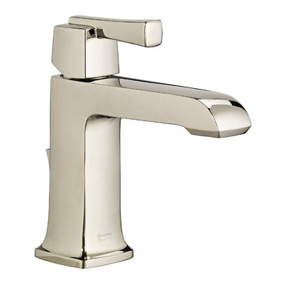 Townsend Single Handle Bathroom Faucet with Drain Assembly Finish: Polished Nickel
