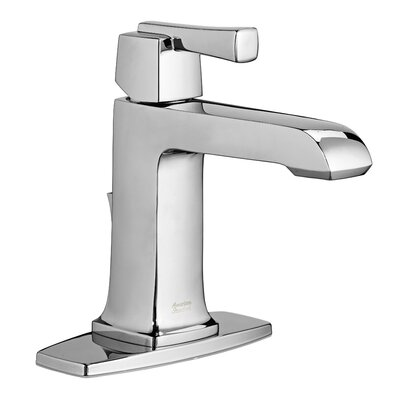 Townsend Single Handle Bathroom Faucet with Drain Assembly Finish: Polished Chrome