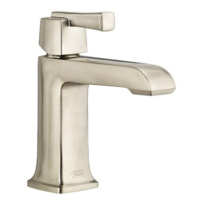 Townsend Single Handle Bathroom Faucet with Drain Assembly Finish: Satin Nickel