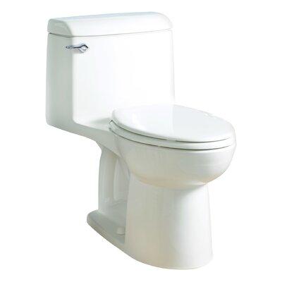 Champion 1.6 GPF Elongated One-Piece Toilet Finish: White