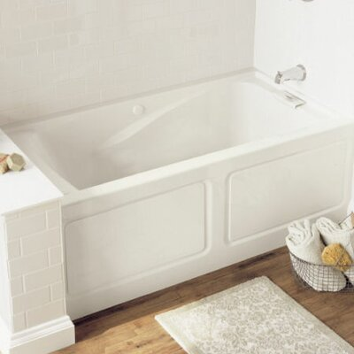 Evolution 60 x 32 Deep Soaking Bathtub Finish: Arctic White