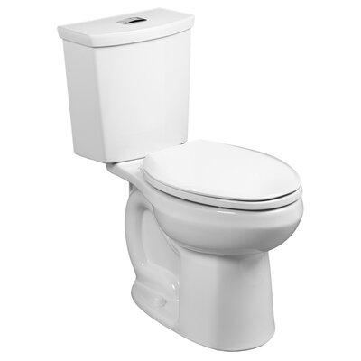 H2Option Dual Flush Round Two-Piece Toilet