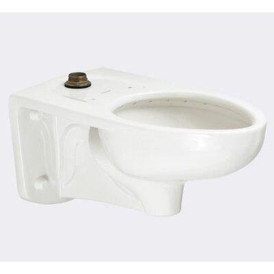Afwall Dual Flush GPF Elongated Toilet Bowl