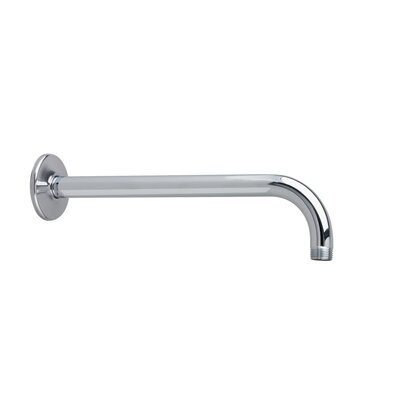 Wall Mount Right Angle Shower Arm Finish: Polished Chrome