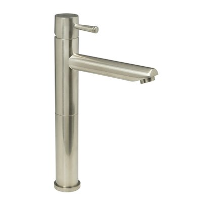 Serin Single Hole Vessel Faucet with Single Handle Finish: Satin Nickel