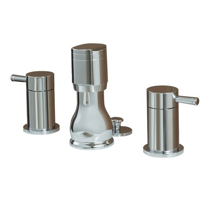 Serin Double Handle Vertical Spray Bidet Faucet Finish: Satin Nickel