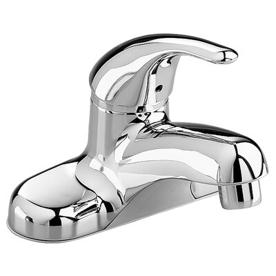 Colony Centerset Bathroom Faucet with Single Handle Finish: Polished Chrome