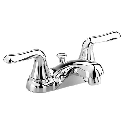 Colony Centerset Bathroom Faucet with Double Handles Finish: Polished Chrome