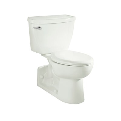 Yorkville Pressure Assisted 1.6 GPF Elongated Two-Piece Toilet Finish: White