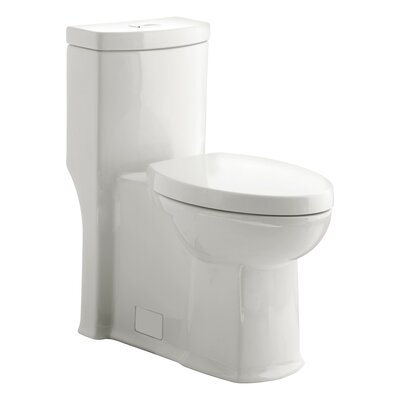 Boulevard Siphonic Dual Flush Elongated One-Piece Toilet