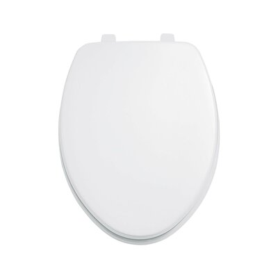 Laurel Elongated Toilet Seat and Cover Finish: White