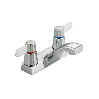 Heritage Centerset Bathroom Faucet with Double Lever Handles