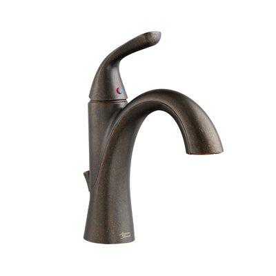 Fluent Monoblock Bathroom Faucet Single Handle Finish: Oil Rubbed Bronze