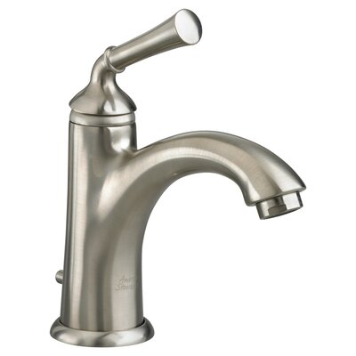 Portsmouth Single Hole Bathroom Faucet with Single Handle Finish: Satin Nickel