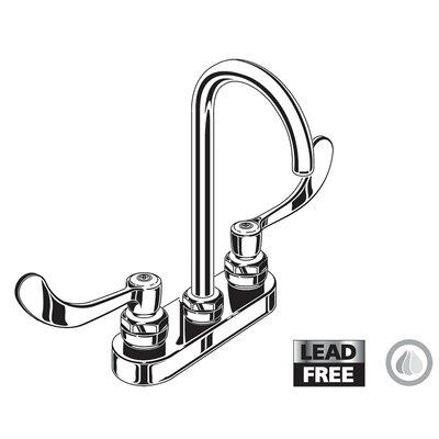 Monterrey Standard Centerset Bathroom Faucet Wrist Blade