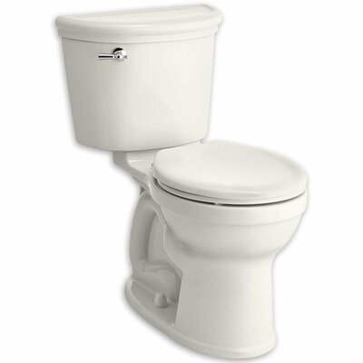 Retrospect Champion Pro Right Height 1.28 GPF Round Two-Piece Toilet