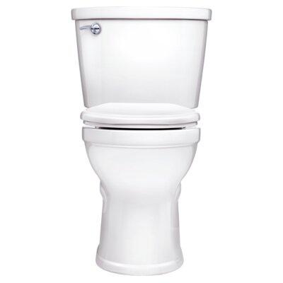 Champion Pro 1.6 GPF Round Two-Piece Toilet Finish: White