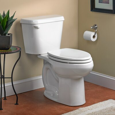 Colony HET Right Height 1.28 GPF Elongated Two-Piece Toilet Color: White